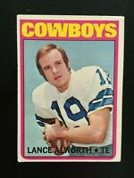 1972 Topps Football Lance Alworth # 248