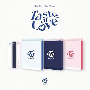 TWICE Taste of Love 10th Mini Album 3Cover Set Photo Book+CD+Photo Card+etc+gift