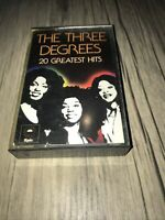 THE THREE DEGREES~A COLLECTION OF THEIR 20 GREATEST HITS~BEST OF CASSETTE TAPE~3