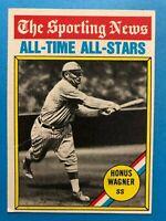 1976 Topps #344 Honus Wagner The Sporting News All Time All-Stars