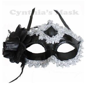 Floral Shiny Metallic Venetian Masquerade Mask Halloween Costume Prom Mardi Gras