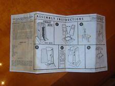 1960's Corgi Kits 602 AA & RAC TELEPHONE BOXES instructions only COPY