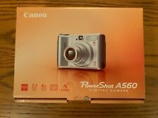 Canon PowerShot A560 7.1 MP Digital Camera Barely Used Tested & Working