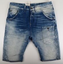 G-star Raw, Alcatraz 3D Loose Jeans 1/2 Shorts, Size W31 Blue Bermuda Shorts