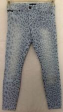 Animal Print Low Rise Jeans for Women