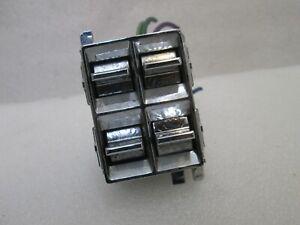 GM CHEVY OLDS CAPRICE CUTLASS 78-87 4 WAY POWER WINDOW SWITCH WITH PLUG