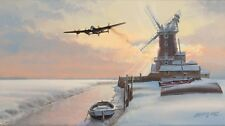 Limited Edition Aviation Print Lancaster Legend by Philip West