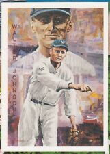 1994 Ted Willams Locklear Collection Insert #LC15 Walter Johnson Baseball Card