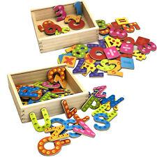 Holzbuchstaben oder Zahlen ABC M...