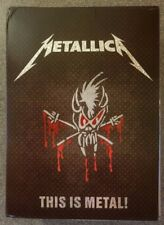metallica THIS IS METAL box set CDS DVDS gift