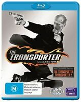 The Transporter 1 + 2 Blu-ray - ONE AND TWO -  AUSTRALIAN REGION B - FREE POSTAG