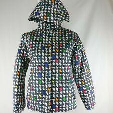 Columbia Girls Omni Tech Outgrown Winter Ski Jacket Coat 14/16 Hooded D3