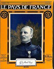 Portrait Général de Division Louis Ernest de Maud'huy Saint-Cyr France 1915 WWI