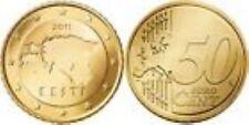 Estland  2011   50 cent      UNC uit de rol      UNC du rouleaux !!!