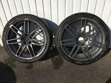 """Audi A4 19"""" 8.5J Matte Grey Alloy Wheels - Double Spoke (Speedline ST5) 2 Wheels"""