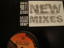 "MC 900 Ft. Jesus  The Killer Inside Me Dj 12"" mEAT bEAT"