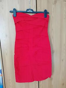 ASOS dress bodycon size 10UK 38EU RED NEW