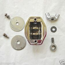 LUDWIG - 1 TOM BRACKET or LEG MOUNT - Vintage 60's Bass Drum Cymbal Part P-1216A