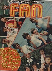 FAN MAGAZINE #50 1976 Bay City Rollers/Rod Stewart/Slik/KennShaun Cassidy
