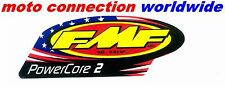 FMF POWERCORE 2 REPLACEMENT DECAL STICKER GENUINE FMF OFFICIAL EXHAUST GRAPHIC