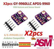 2pz I2C GY-9960LLC APDS-9960 RGB Gesto and Sensore Board Modulo Breakout