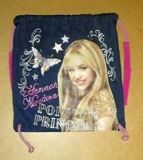 Disney HANNA MONTANA POPSTAR PRINCESS Canvas Bag Backpack