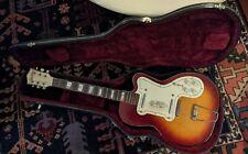 1950s Silvertone Kay Jimmy Reed Thin Twin 1382L Electric Guitar Hollowbody vtg