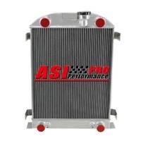 4 ROW Aluminum Radiator For 1937-38 FORD FLATHEAD Flat Head ENGINE AT/MT PRO