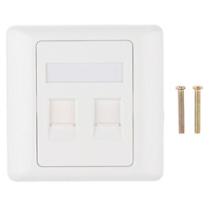 86 Type Computer Socket Panel RJ45 Cable Interface Outlet Wall SockeR_yk