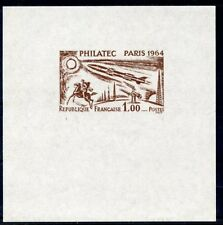 STAMP / TIMBRE FRANCE NEUF N° 1422 ** PHILATEC 1964 / FAUX NON DENTELLE