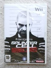 WII GAME: SPLINTER CELL (TOM CLANCY´S DOUBLE AGENT). PAL, NEW & SEALED!