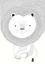Rasch Tapete 842227 Bambino XVIII Wandbild Löwe Digitaldruck Vlies Kinderzimmer