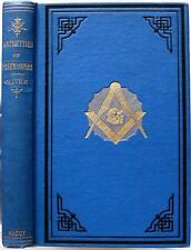 c1900 THE ANTIQUITIES OF FREEMASONRY FIVE GRAND PERIODS OF MASONRY MYTHS LEGENDS