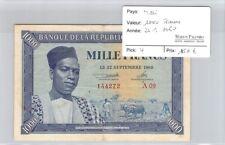BILLET MALI - 1000 FRANCS - 22.9.1960