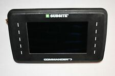 Subsite Commander 7 Tracker Ditch Witch Display Monitor Recon Utiliguard HDD