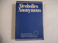Alcoholics Anonymous Third Edition Ninth Printing 1981 HB DC 22-4C