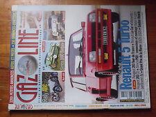 $$µ Revue Gazoline N°98 Renault 5 Turbo  Rally ABC  Simca 1000  Renault Dauphine