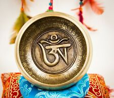 New OM 4.5 inches Singing bowl for Meditation, Yoga and chakra