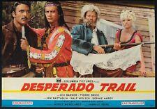 DESPERADO TRAIL Winneton III LEX BARKER, P. BRICE, KARL MAY, WESTERN FOTOBUSTA 9