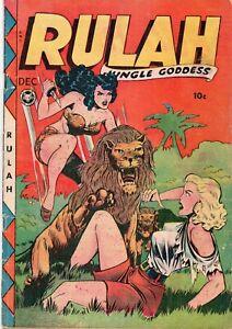 RULAH  21 (FOX 10/1948) Classic GGA jungle cover VG- 3.0 - Tape