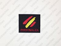 Parche bordado BANDERA ESPAÑA Personalizado
