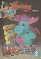 X2324 HASBRO - Peluche Wuzzles - Pubblicità 1986 - Advertising