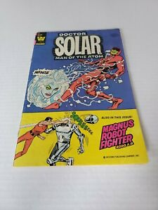 Doctor Solar Man Of The Atom # 29 Whitman Late Edition's 1981 50c. Magnus Robot