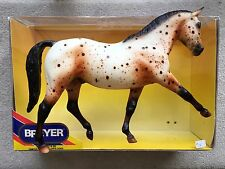 Retired Breyer Horse #1116 Pay N Go Dressage Hanoverian Leopard Appaloosa Box