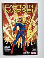 Captain Marvel Vol 1: Re-Entry - Marvel Comics Trade Paperback Graphic Novel NEW