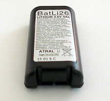 ATRAL LOGISTY BATLI26 BATTERIA AL LITIO ORIGINALE LOGISTY 3,6V 4AH