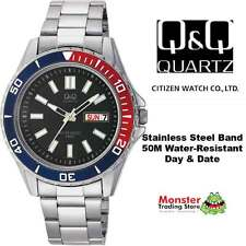 AUSSIE SELLER GENTS DIVERS STYLE WATCH DAY&DATE CITIZEN MADE A172-202 50 METRES
