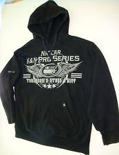 Vtg Nascar Chase Authentics K&N Pro Series Hoodie Black Racing Sweatshirt Size L