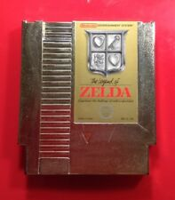 The Legend of Zelda NES Gold Cartridge (Nintendo Entertainment System)