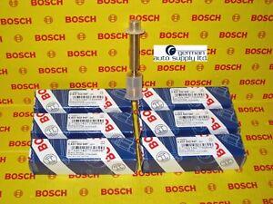 Mercedes-Benz 6 Piece Fuel Injector Set - BOSCH - 0437502047, 62274 - NEW OEM MB